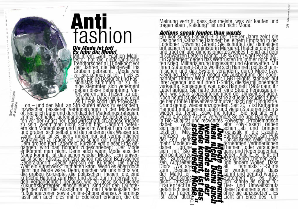 Fashion Anti Fashion